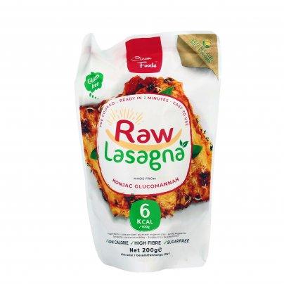 Pasta di Konjac Senza Glutine - Raw Lasagna