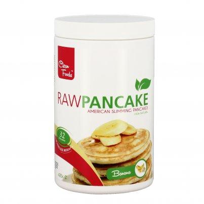 Raw Pancake alla Banana Senza Glutine - Preparato Pancake Ipocalorico