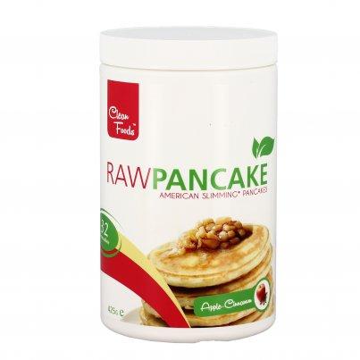Raw Pancake Mela e Cannella Senza Glutine - Preparato Pancake Ipocalorico