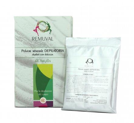Polvere Minerale Depilatoria all'Argilla - Remuval