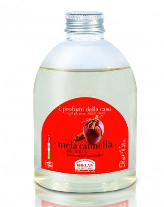 Essenza Mela Cannella per l'Ambiente Ricarica bastoncini 250 ml.