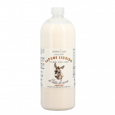 Sapone Liquido al Latte d'Asina - Ricarica
