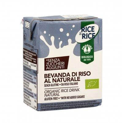 Bevanda di Riso al Naturale - Rice & Rice 200 ml (con cannucia)