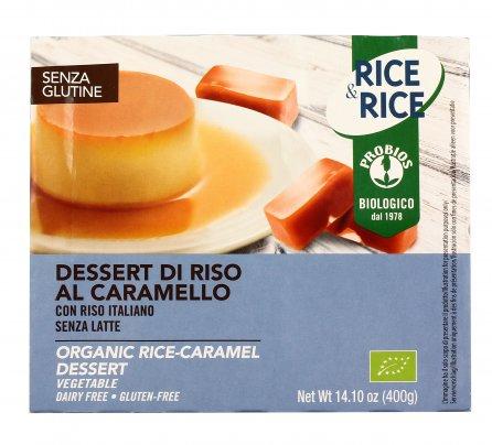 Dessert di Riso al Caramello Senza Glutine - Rice & Rice