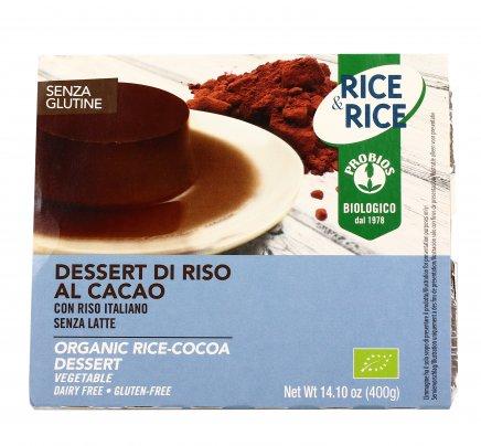 """Dessert di Riso al Cacao Senza Glutine """"Rice & Rice"""""""