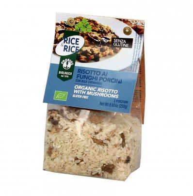 Risotto ai Funghi Porcini - Rice & Rice