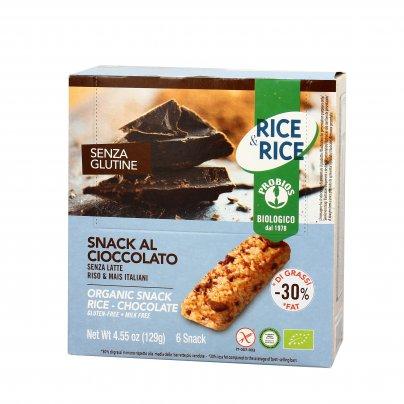 Snack al Cioccolato Senza Latte Rice & Rice