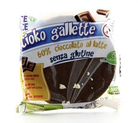 Cioko Gallette - Cioccolato al Latte