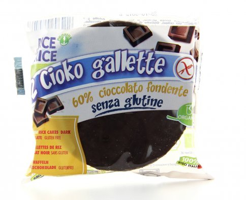 Cioko Gallette - Cioccolato Fondente