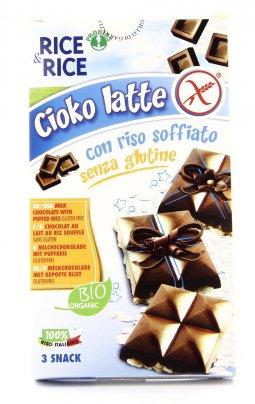 Rice & Rice - Cioko Riso Soffiato e Cioccolato al Latte