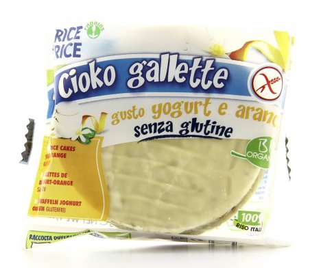 Cioko Gallette -  Yogurt all' Arancia