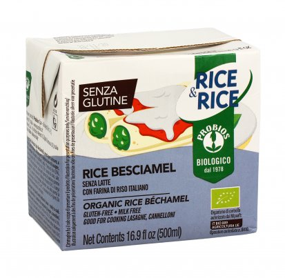 Salsa Vegetale di Riso Bio - Senza Glutine - Rice & Rice