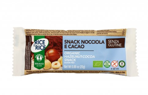 Snack Biologico Nocciola e Cacao - Rice & Rice