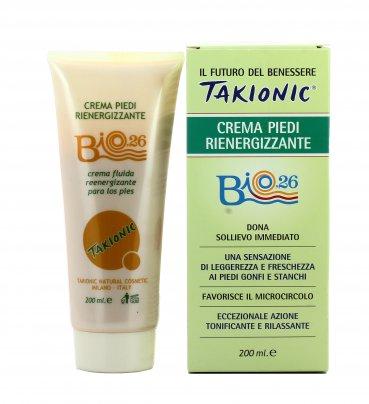 Crema Piedi Rienergizzante Takionic - Bio26