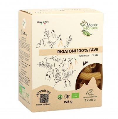 Pasta Rigatoni 100% Farina di Fave - Senza Glutine