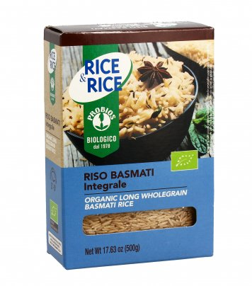 Riso Basmati Integrale - Rice & Rice
