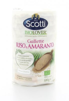Gallette Biologiche di Riso e Amaranto