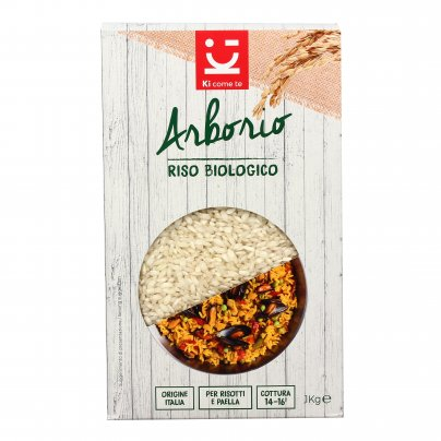 Riso Arborio Superfino Biologico