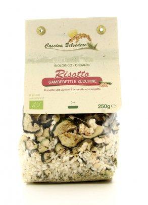 Risotto Gamberetti e Zucchine Bio - 250 gr.