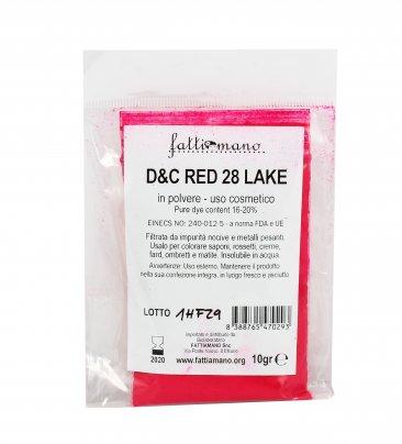 Rosa Fucsia D&C Red 28 Lake - Pigmenti per Cosmetici