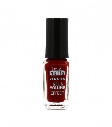 Smalto Colorato per Unghie Keratine Gel N°104 Ruby Red