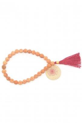Rudra Bracelet Red Nappa rossa