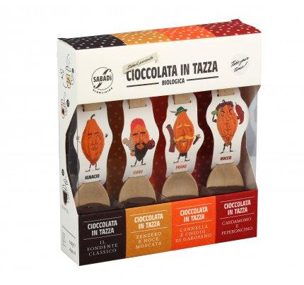 Cioccolata in Tazza Extra Fondente - Assortita
