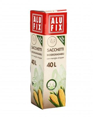 Sacchetti Biodegradabili per Umido 40 litri (8 sacchi)