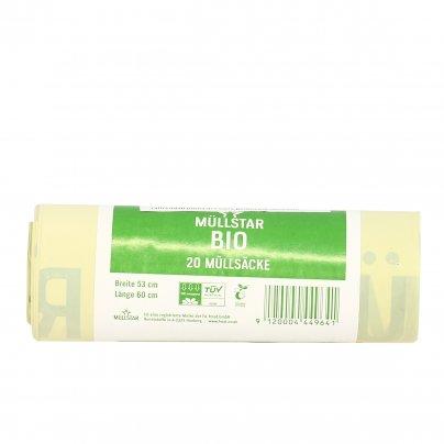 Sacco Pattumiera Biodegradabile - Rifiuti Umidi 40 litri (53x60 cm)