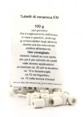 Sacchetto con Tubetti di Ceramica EM 100 gr