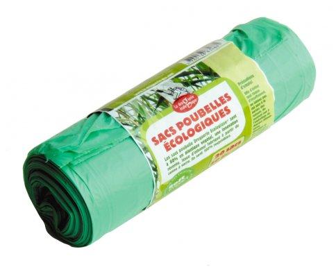Sacchi Spazzatura Colore Verde 20 Sacchi
