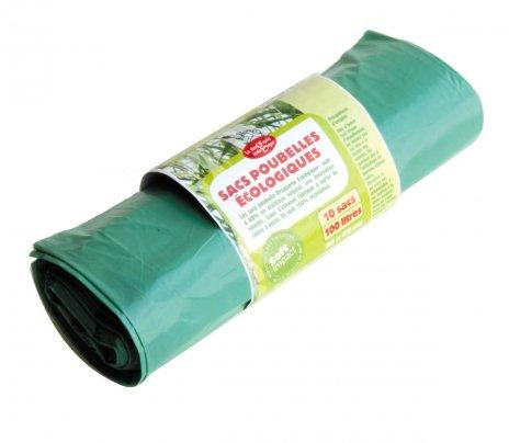 Sacchi Spazzatura Colore Verde 10 Sacchi