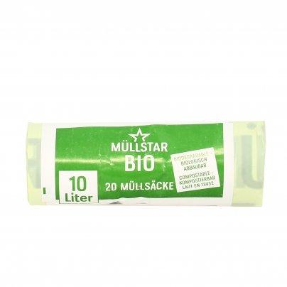 Sacco Pattumiera Biodegradabile - Rifiuti Umidi 10 litri (34x42 cm)