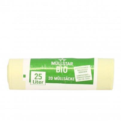 Sacco Pattumiera Biodegradabile - Rifiuti Umidi 25 litri (50x50 cm)