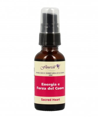 Formula Spray a Base di Essenze Floreali e Oli Essenziali - Sacred Heart