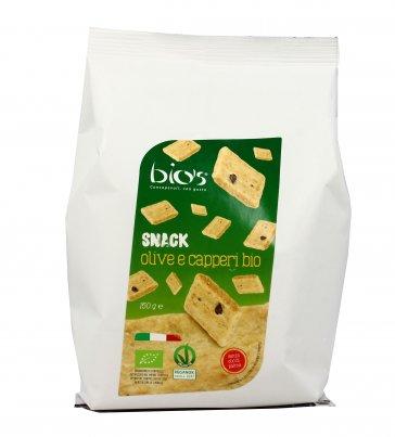 Snack Olive e Capperi Bio