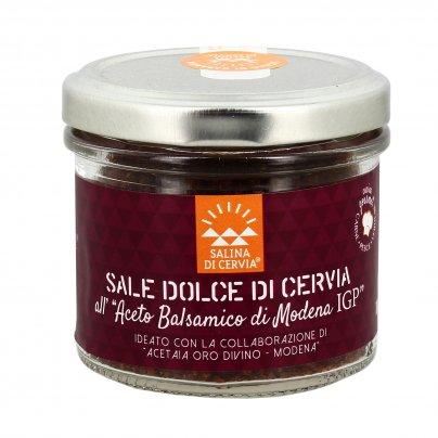 Sale Dolce di Cervia all'Aceto Balsamico di Modena Igp