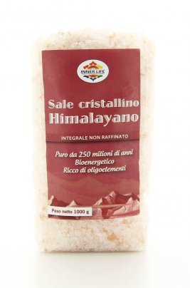 Sale Cristallino Himalayano, Granulato - Inner Life 1000 gr.