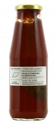 Salsa di Pomodoro al Basilico Bio
