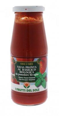 Salsa Pronta al Basilico Biologica da Pomodoro Siccagno