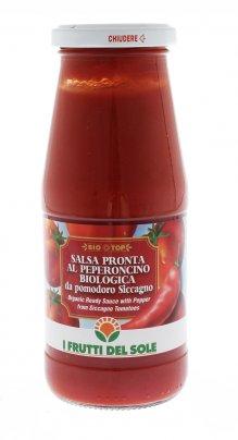 Salsa Pronta al Peperoncino Biologica da Pomodoro Siccagno