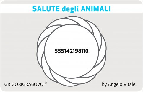 Tessera Radionica 82 - Salute degli Animali