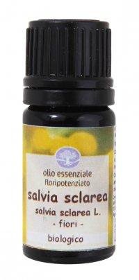 Salvia Sclarea - Olio Essenziale Floripotenziato