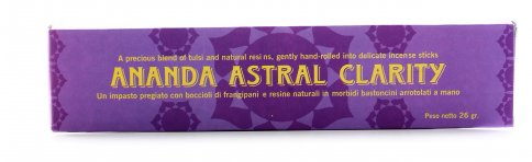 Incenso Ananda Clarity Astrale