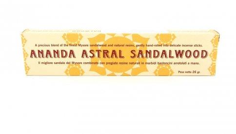 Ananda Incenso Astrale - Sandalo