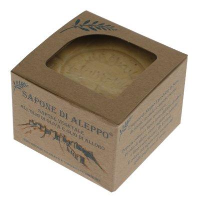 Sapone di Aleppo Grezzo con Olio di Alloro al 55%