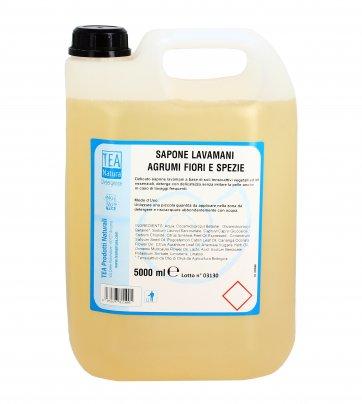 Sapone Lavamani - Agrumi Fiori e Spezie 5 litri
