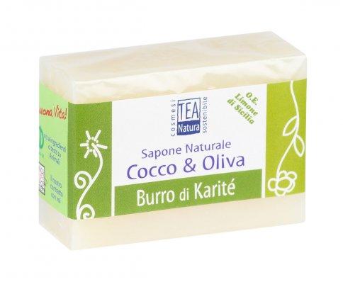 Sapone Naturale Cocco & Oliva - Burro di Karitè