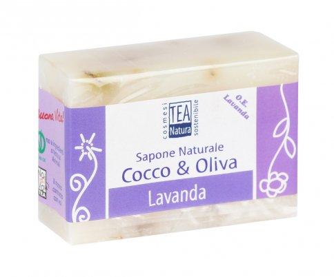 Sapone Naturale Cocco & Oliva - Lavanda