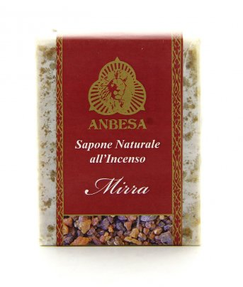 Sapone Naturale all'Incenso Mirra